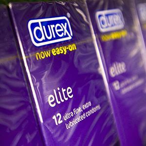File photo of Durex condoms (© Jason Bye/Rex Features)