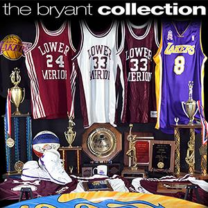 A collection of Kobe Bryant's memorabilia at Goldin Auctions (© Goldin Auctions)