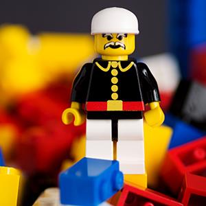 Lego character (© Ron Buskirk/Alamy)