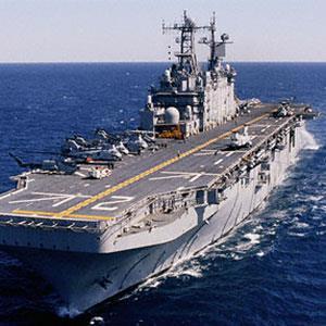 Image: Navy ship © Corbis