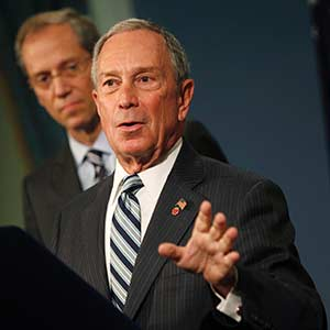 File photo of New York City Mayor Bloomberg at a news conference in New York, on September 13, 2012 (© Mike Segar/Reuters)