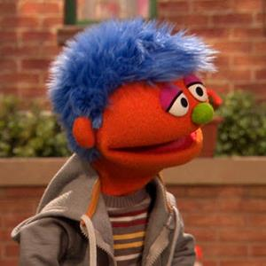"Video still of Alex the Muppet from Sesame Street's ""Little Children, Big Challenges: Incarceration"" online tool kit (© Sesame Workshop)"