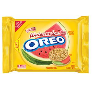 A package of Watermelon Oreo's (©Mondelēz Global)