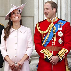 Catherine, Duchess of Cambridge and Prince William, Duke of Cambridge at Buckingham Palace on June 15, 2013 in London, England (© Max Mumby/Indigo/Getty Images)