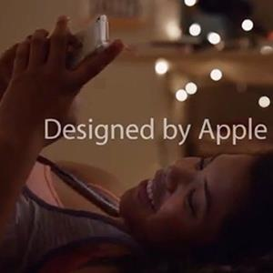 Screenshot from the new Apple ad (© Apple via YouTube)