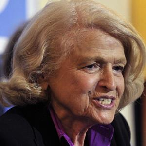 Defense of Marriage Act plantiff Edith 'Edie' Windsor Edith speaks in New York City on Wednesday (© Timothy Clary/AFP/Getty Images)