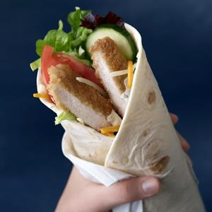 McDonald's new chicken McWrap sandwich wrap (© AP Photo/McDonald's)