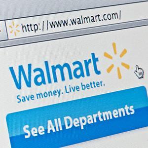 Wal-Mart website (© M4OS Photos/Alamy)