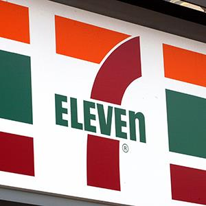 File photo of a 7-Eleven store sign (© Tim Boyle/Getty Images)