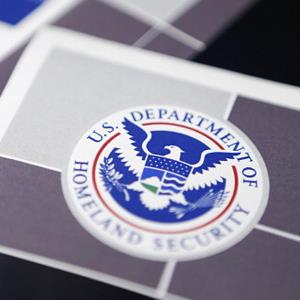 A Department of Homeland Security booklet in Washington, DC, on July 25, 2012 (© Andrew Harrer/Bloomberg via Getty Images)