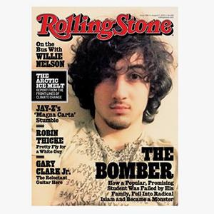 August 2013 Rolling Stone cover (© Rolling Stone)