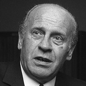 German industrialist Oskar Schindler, who saved Jewish people from Nazi concentration camps (©Peter Hillebrecht/AP)