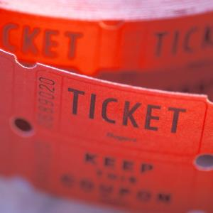 Roll of tickets (Ingram Publishing/Getty Images)