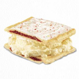 Carl's Jr.'s Strawberry Pop Tart Ice Cream Sandwich (© Carl Karcher Enterprises, Inc.)