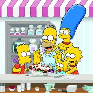 Screenshot of 'The Simpsons' (© FOX via Getty Images)