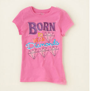 Girl's T-shirt (© Children's Place via http://aka.ms/childrens)
