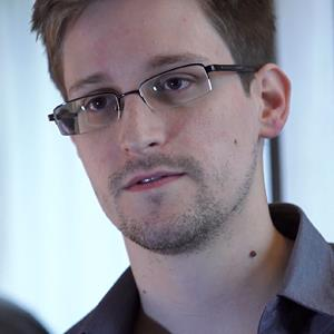 Edward Snowden (© The Guardian via Getty Images)