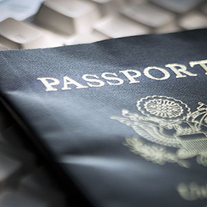 U.S. passport (© Rubberball/Mike Kemp/Rubberball/Getty Images)