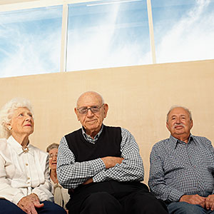 Image: Group of older people seated © Image Source, Getty Images