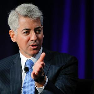 William Ackman, CEO of Pershing Square Capital Management, speaks at the Partner Connect 2013 conference in April 5, 2013 (© Brian Snyder)