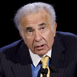 Carl Icahn in Oct. 2007 (© Mark Lennihan/AP Photo)