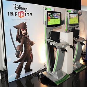A general view of the atmosphere at an exclusive London launch event for upcoming videogame 'Disney Infinity.' (© David M. Benett/Getty Images for Disney Infinity)