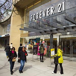 File photo of a Forever 21 store (© Ben Nelms/Bloomberg via Getty Images)