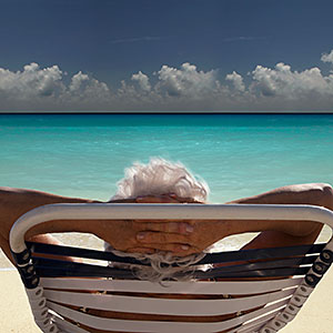 Image: Senior on the beach © Angelo Cavalli, Cultura, Getty Images