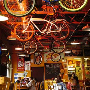 Road 34 Bike Shop, Deli and Tavern in Fort Collins, Colorado (© Cyrus McCrimmon/The Denver Post via Getty Images)