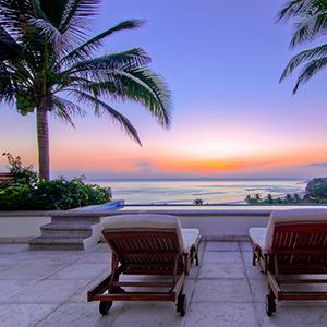 Handout photo from Inspirato showing the view from one of the vacation properties available in Punta De Mita, Mexico (© Inspirato/AP Photo)