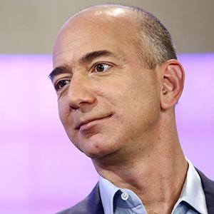 File photo of Jeff Bezos on Nov. 16, 2012 (© Peter Kramer/NBC/NBC NewsWire via Getty Images)