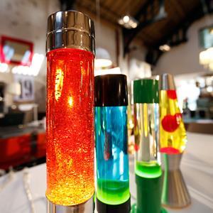 Lava lamps in a shop in London, on Aug. 19, 2013 (© Lefteris Pitarakis/AP)