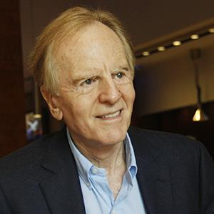 John Sculley, former CEO of Apple and president of Pepsi, on January 17, 2013 in New Delhi, India (© Manoj Kumar/Hindustan Times via Getty Images)