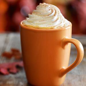 Starbuck's Pumpkin Spice Latte (© Starbucks)