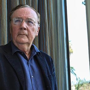 Writer James Patterson poses to promote the new movie