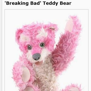 'Breaking Bad' Teddy Bear on the ScreenBid auction website (© ScreenBid LLC)
