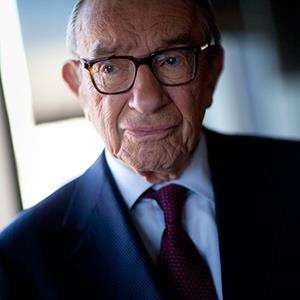 Alan Greenspan, former Federal Reserve chairman (© Andrew Harrer/Bloomberg via Getty Images)