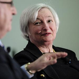 File photo of Janet Yellen on April 4, 2013 (© Pete Marovich/Bloomberg via Getty Images)
