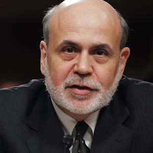 Ben Bernanke on Capitol Hill in 2013 - Source: © ZUMA/Rex Features