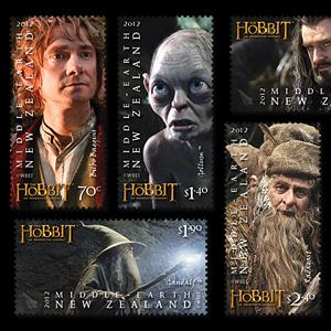 Credit: Warner Bros. Entertainment Inc. via: http://stamps.nzpost.co.nz/thehobbit/set-stamps