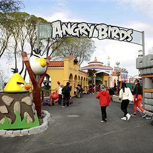Angry Birds theme park in Tampere, Finland (© MERJA OJALA/epa/Corbis)