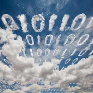 illustration of cloud data in the form of 1s and 0s © John Lund/Photographer's Choice/Getty Images