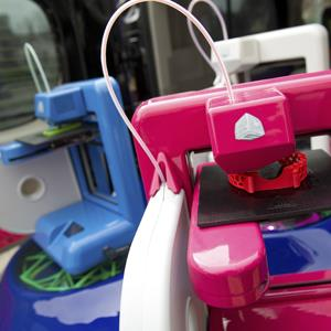 The 3D Systems modeling printer © David Paul Morris/Bloomberg via Getty Images