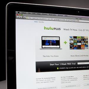 The Hulu website © Scott Eells/Bloomberg via Getty Images