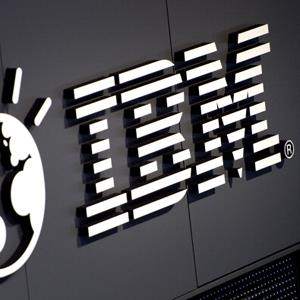 File photo of the IBM logo (© ODD ANDERSEN/AFP/Getty Images)