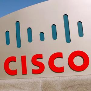Cisco logo at the technology company's campus in San Jose, California &#169; Robert Galbraith/Newscom/Reuters