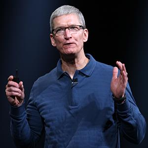 Apple CEO Tim Cook © KIMIHIRO HOSHINO/AFP/Getty Images