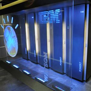 "IBM's ""Watson"" computer in Yorktown Heights, N.Y. Copyright IBM, Bob Goldberg/AP"
