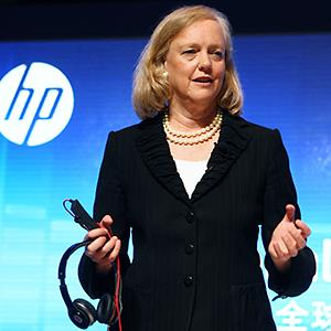 Hewlett-Packard CEO Meg Whitman © Imaginechina/Corbis