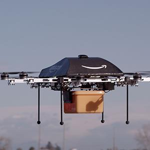 Amazon testing drones © Amazon.com